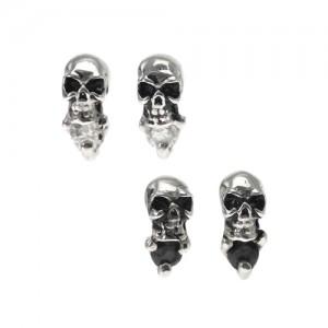 earring,skull,silver,birth