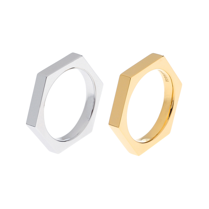 hex nuts men basic ring