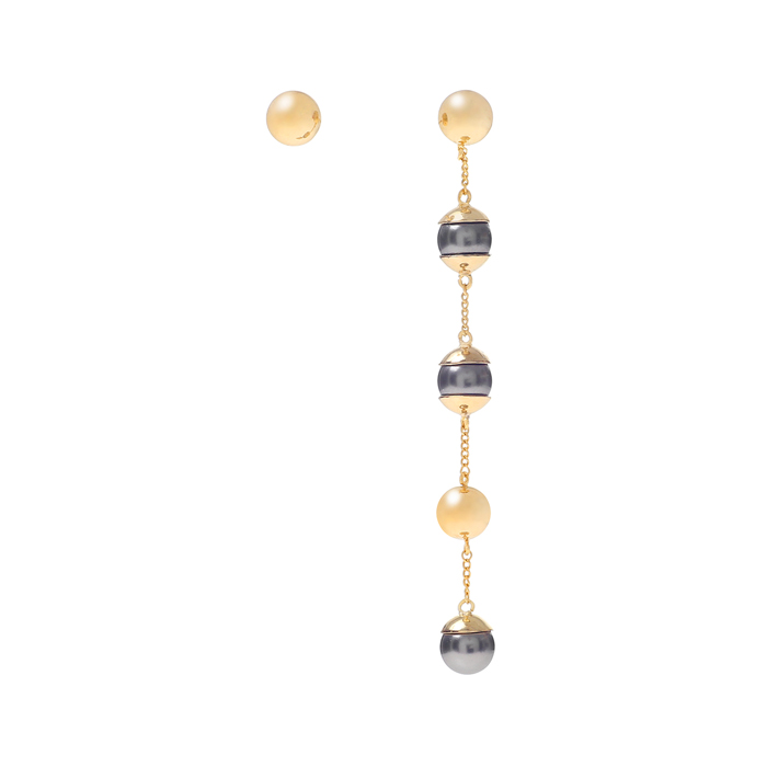 Full Moon 5 layers drop earrings B