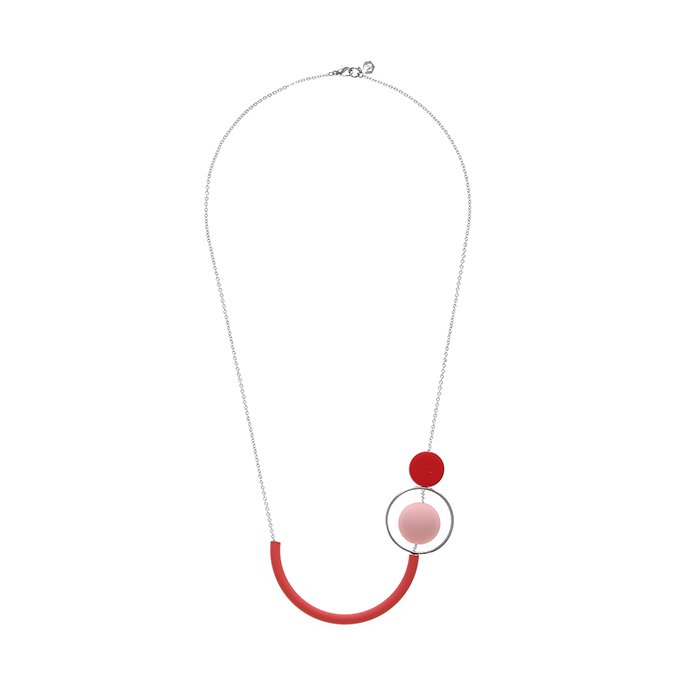 Wonderland Red Necklace