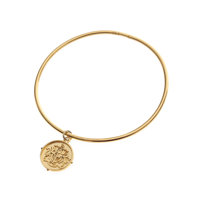 Dreamer Coin Bangle