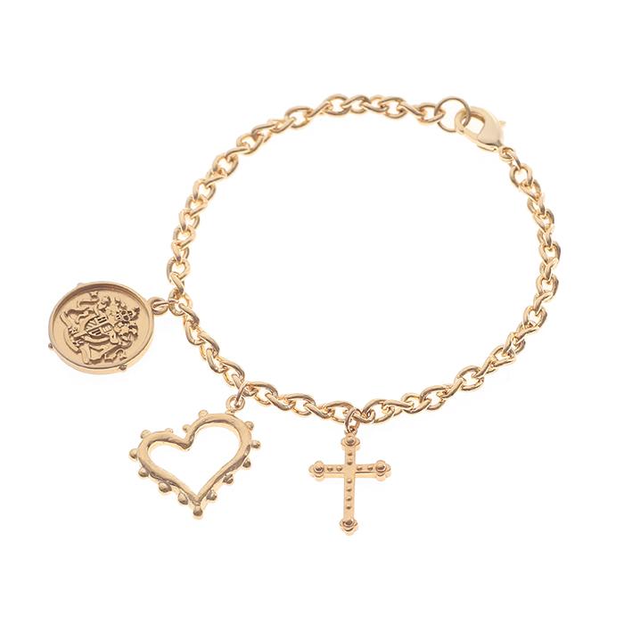 Dreamer and Lover Charms Bracelet