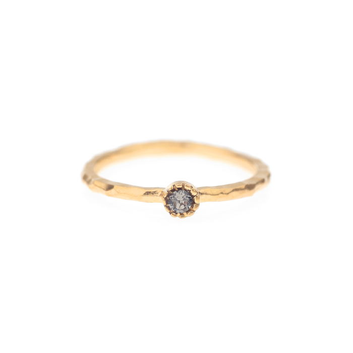 Lover Mini Circle Crystal Ring