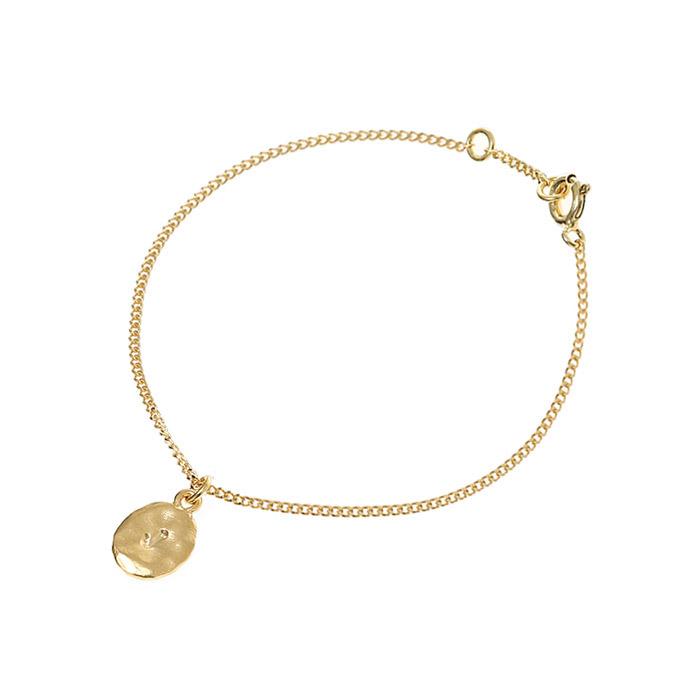 Wish Initial Bracelet