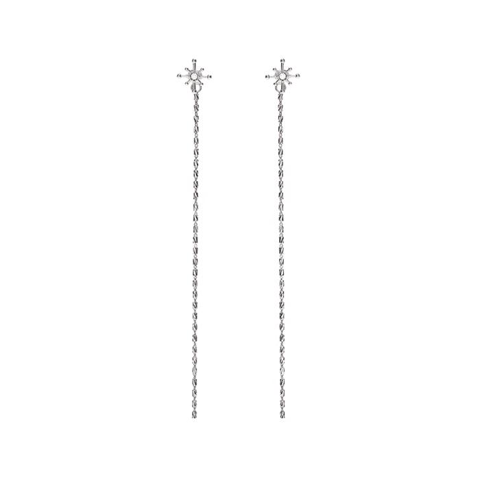 Joli Starry Chain Drop Earrings