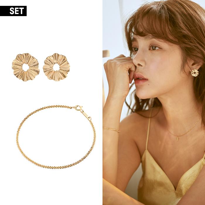 [SET] Joli Earrings and Bracelet