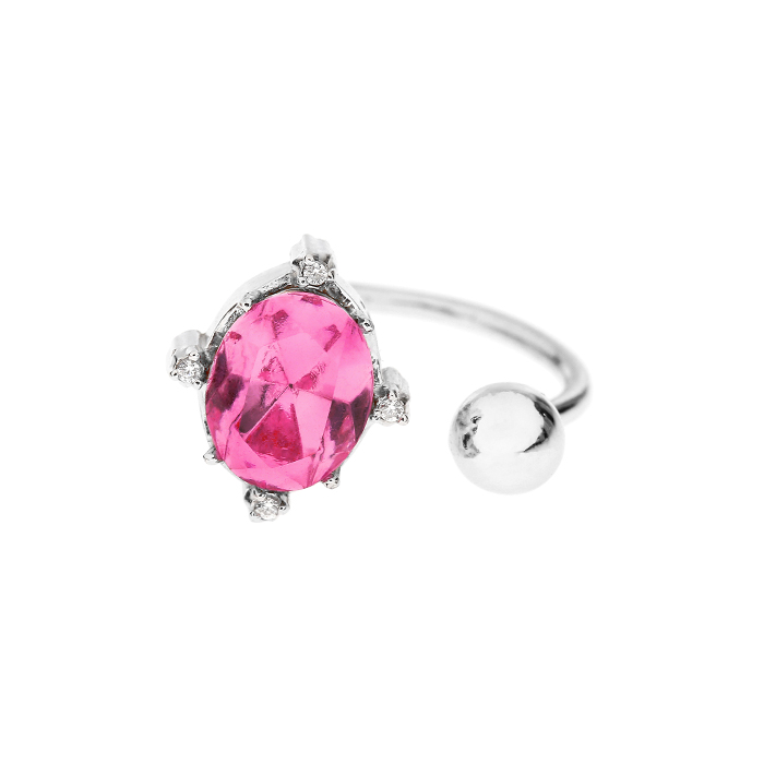 Fantasia Crystal Open Ring