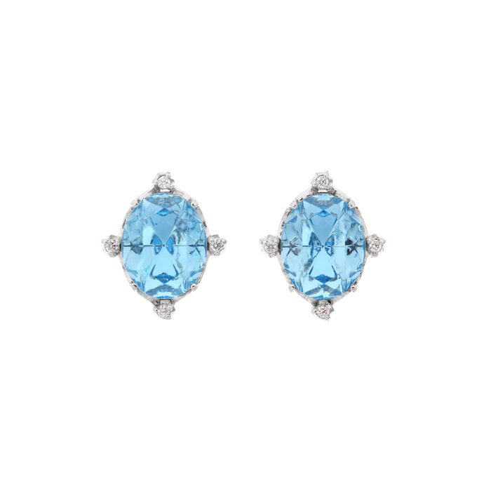 <b>청하 착용</b><br>Fantasia Small Crystal Earrings