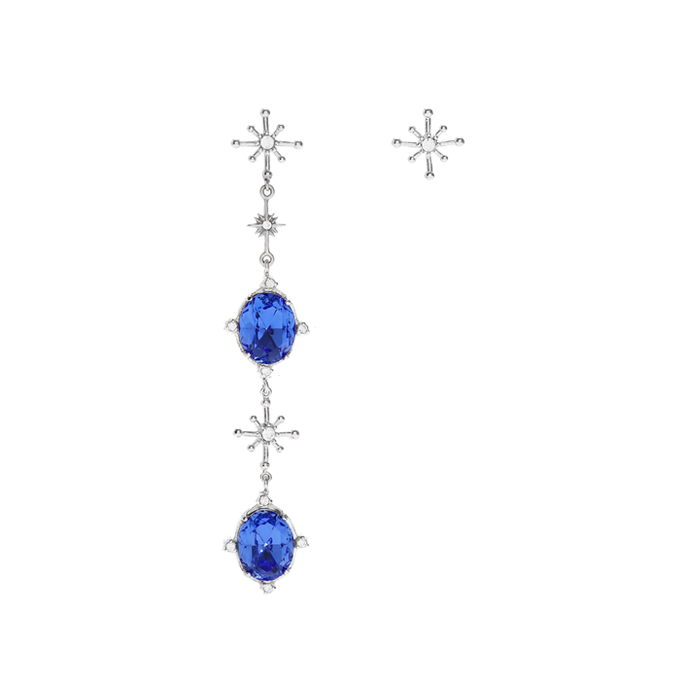 Fantasia Crystal and Starry Earrings