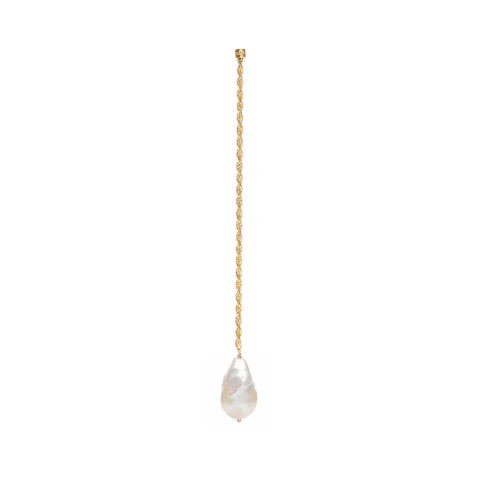 Midnight Sun Pearl Drop Single Earring