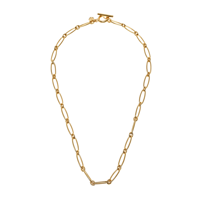 Flow Round Chain Necklace